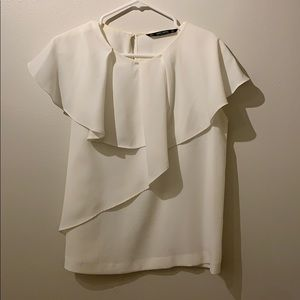 Zara fancy work blouse